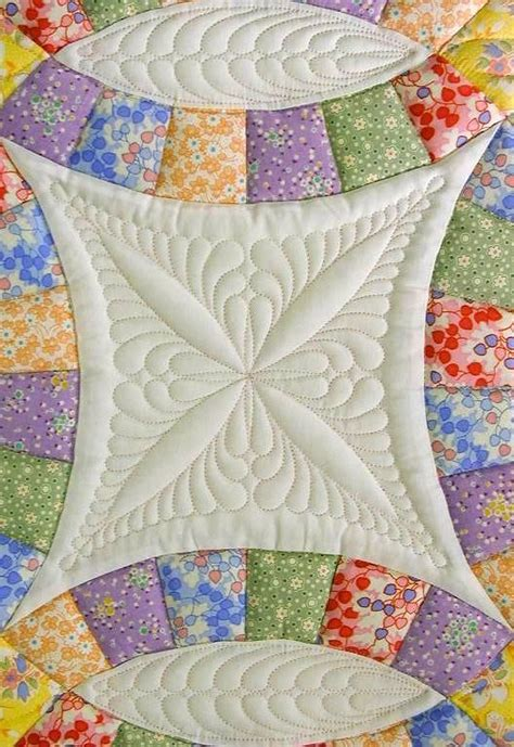 Wedding Ring Quilt by Up Wedding Ring Quilt Quilting Design By