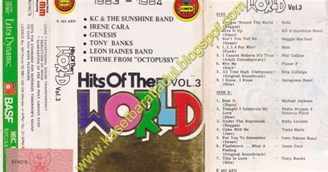 Kaset Pita The Jets Believe kaset barat jadul kabar dul hits of the world vol 3 records