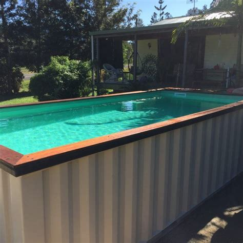 cool swimming pools 20 cool shipping container swimming pools