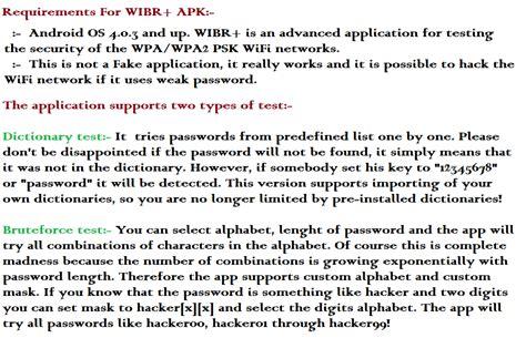 wibr apk wibr plus wifi bruteforce hack pro apk 1 0 3 android 2016 cyber dudes www onlyhax