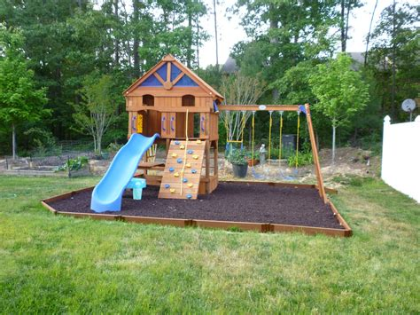 how to build a backyard playground daily house projects metamorphosis monday