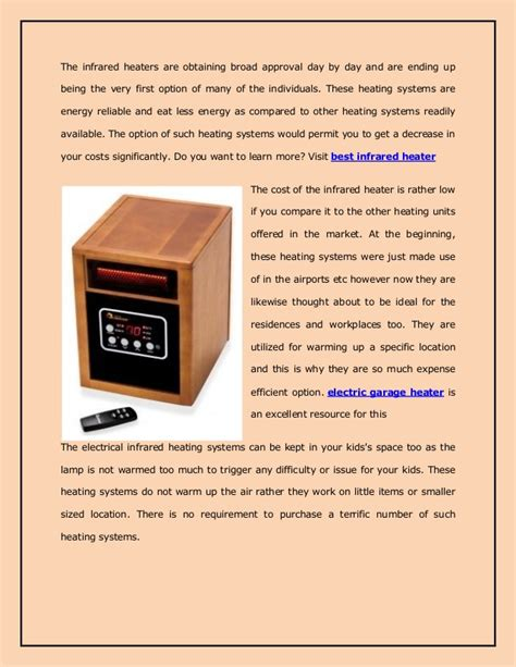 how do infrared heat ls work the bestinfraredheater infrared heaters do they work