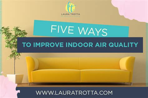 5 ways to improve indoor air quality in your home or