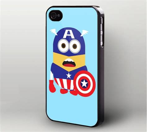 Despicable Me Captain America Minion V1479 Iphone 5 5s Se Casing Pr 262 best images on iphone 6 plus custom iphone 5c cases and e commerce