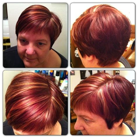 mahogany red hair with high lights pin by magaly perez on hair pinterest