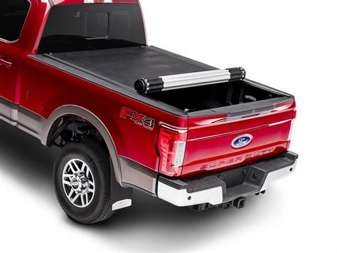 rolling bed cover tonneau bed cover hard roll up by rev black for 6 75
