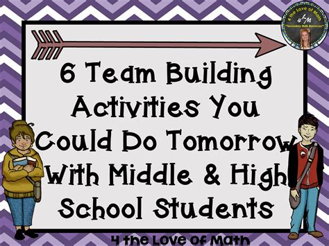 themed events for college students 4 the love of math 6 team building activities you could