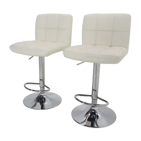 chairs bar stools and tables 51 off roundhill furniture roundhill furniture white