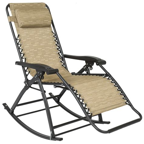 choice products  gravity rocking chair lounge porch seat outdoor patio ebay