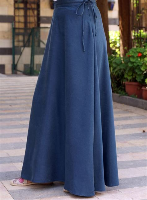 Rok Denim Maxi Skirt Naura Skirt 389 best images about my beautiful on hashtag muslim fashion and maxi