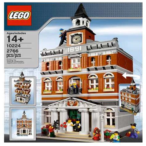 town sets lego creator town modular building 10224 retired set