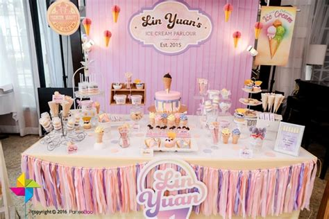 Ice Cream Parlor First  Ee  Birthday Ee    Ee  Party Ee