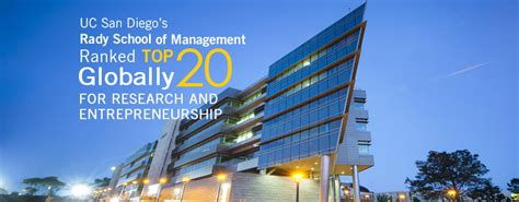 Ucsd Time Mba by Rady School Of Management Uc San Diego