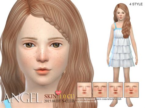 sims 4 tsr child hair s club ts4 hs angel skintones cu 1 0