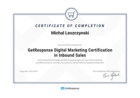 Digital Marketing Certificate Programs by New Inbound Sales Certification Program Coupon Codes Of