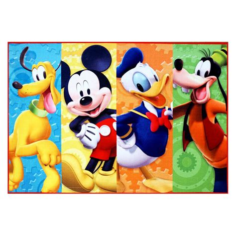 disney mickey mouse area rug shop your way - Disney Mickey Mouse Rug