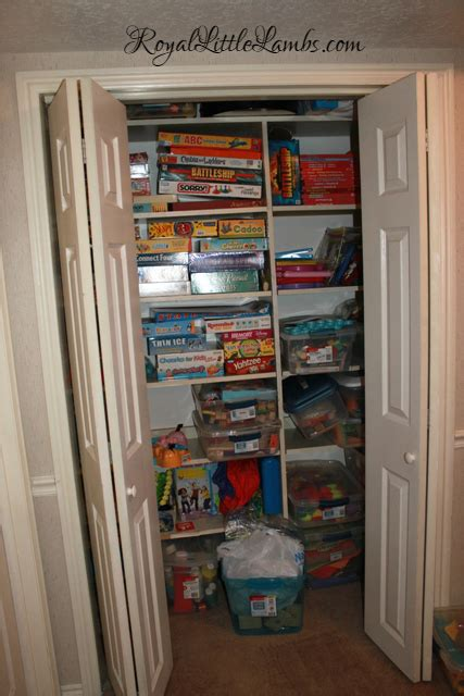 Another Closet Storage by Our School Room In Utah 2011