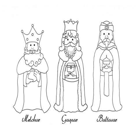 imagenes para pintar reyes magos dibujos para colorear de los reyes magos para imprimir
