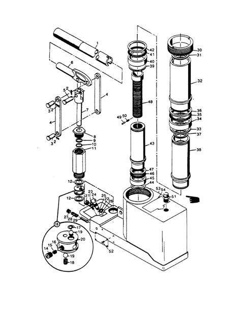 Hydraulic Floor Parts by A Or Or Parts Hydraulic K To Ghtfloorjack