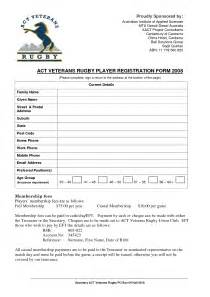free sle registration forms template free sle registration forms template 28 images hotel