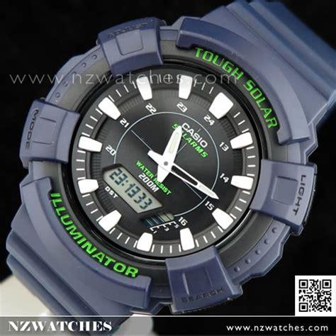 Casio Ad S800wh 2av Tough Solar buy casio solar world time 5 alarms blue sport