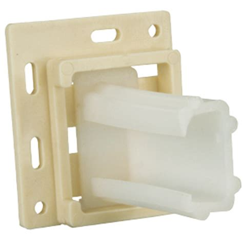 Drawer Sockets Plastic by Drawer Slide Socket Small Quot C Quot Plastic 1 Pr