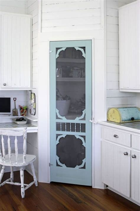 Screen Pantry Door by Replace A Pantry Door With A Screen Door For An Even