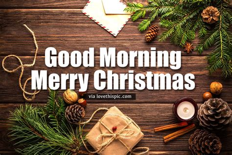 postcard good morning merry christmas quote pictures   images  facebook tumblr