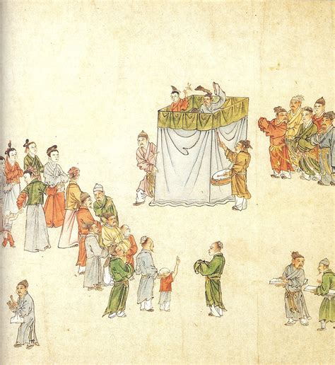Rossa Moory Culture Original 1658 file puppeteers draw a crowd yuan dynasty jpg wikimedia commons