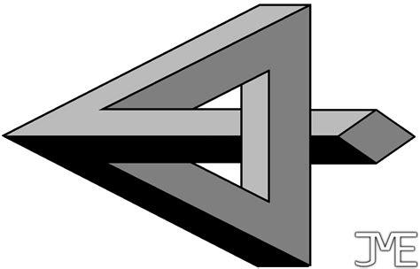 impossible triangle by jmelahman on deviantart