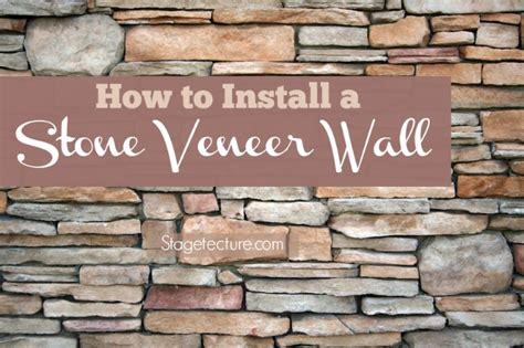 how to install interior stone veneer video