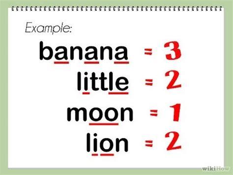 Find How Many Your Name How Many Syllables اكتشف بسهولة كم عدد الأجزاء المتواجدة