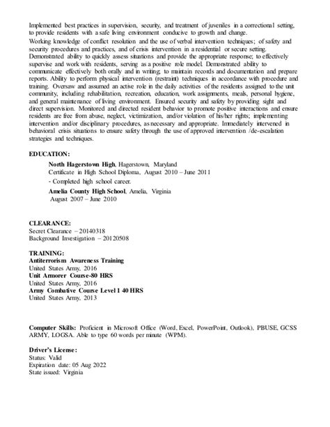 J D Resume by D Mcmillion Resume