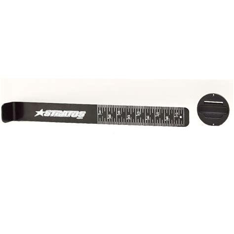 fish ruler for boat stratos 7f167 black 18 inch aluminum boat fish ruler w