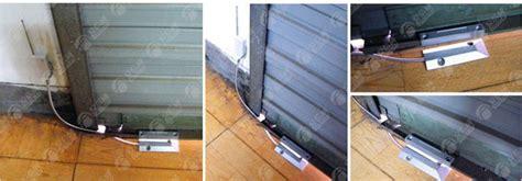 ouverture garage d 233 tecteur d ouverture de porte de garage ou volet roulant