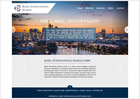 International Search Iweb Portfolio Basel International Search