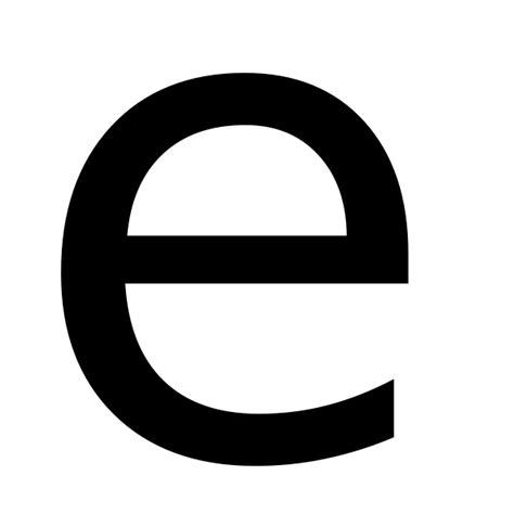 Letter Wiki File Letter E Svg Wikimedia Commons