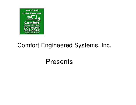 comfort systems usa inc comfort engineered systems inc make it right houses