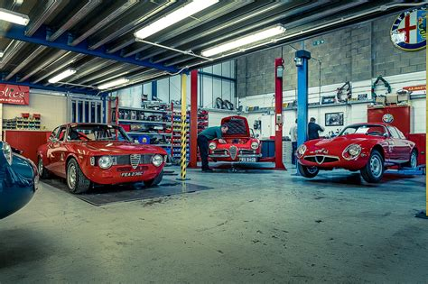 nearest toyota garage classic alfa heaven inside alfaholics by car magazine