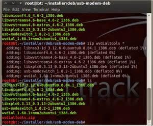 membuat zip di linux membuat file zip di linux backtrack 5 contoh penggunaan