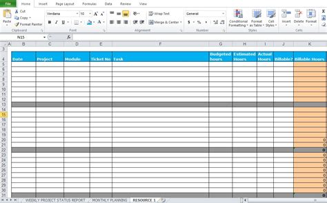 Work Status Report Template Excel Weekly Project Status Report Template Excel Tmp