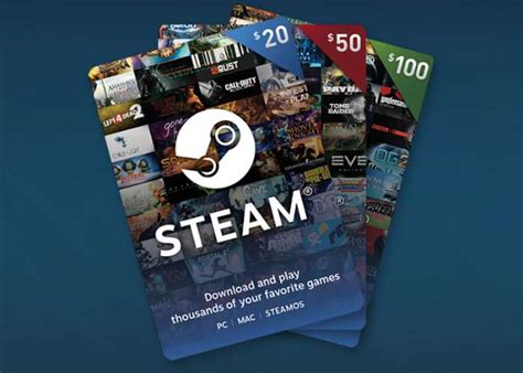 Online Steam Gift Cards - steam digital gift cards now available geeky gadgets