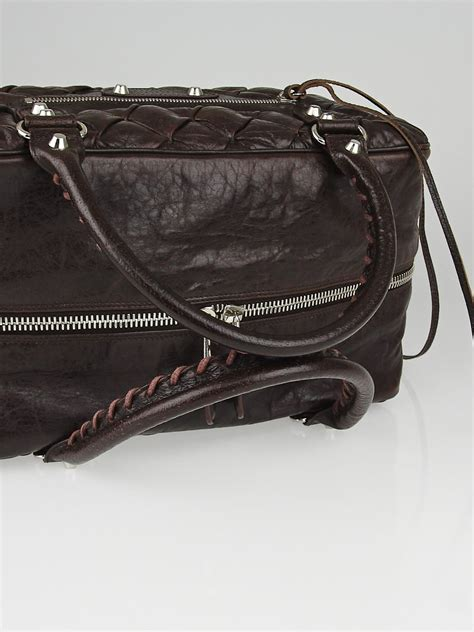 Balenciaga Leather Ring Box Bag by Balenciaga Truffle Quilted Chevre Leather Matelasse Mm Bag