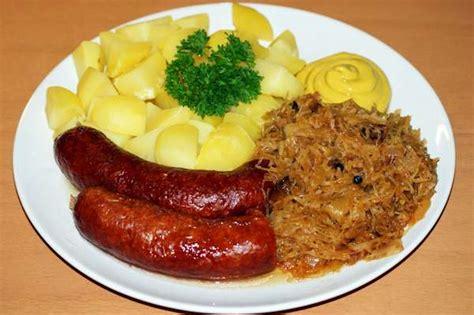 cucina tipica tedesca mangiare e bere in germania non patate crauti e