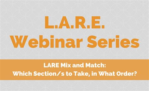 lare sections lare mix and match land8