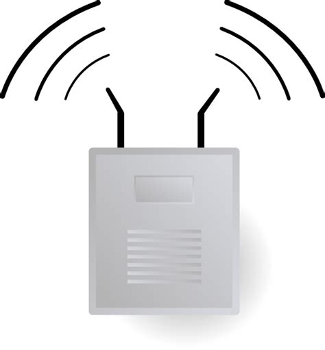 visio wireless stencil access point clip at clker vector clip