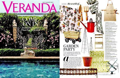 Veranda Magazine by Veranda Magazine Garden Seibert Rice