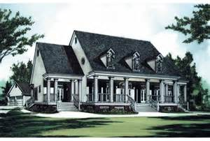Plantation House Plans Eplans Plantation House Plan Southern Luxury 3149 Square And 4 Bedrooms From Eplans
