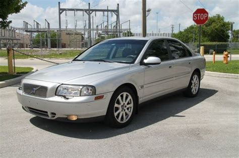 automobile air conditioning service 2002 volvo s80 lane departure warning sell used 2002 volvo s80 t6 sedan 4 door 2 9l in miami