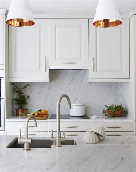 White Pendant Lights Kitchen White Kitchens With The Wow Factor The Room Edit